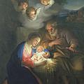 Nativity Scene by Anton Raphael Mengs