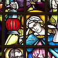 Nativity Window by Patty Colabuono
