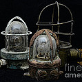Natuical - Vintage Ship Deck Lights by Paul Ward