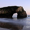 Natural Bridges State Park California by Bob Christopher