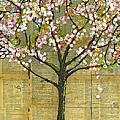 Nature Art Landscape - Lexicon Tree by Blenda Studio