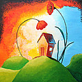 Nature Spills Colour On My House by Nirdesha Munasinghe