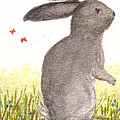 Nature Wild Rabbit by Tis Art