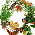 Nature's Natural Green Wreath by Suzanne Powers