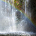 Natures Rainbow Falls by Jerry Cowart