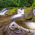 Nature's Water Slide by Michael Ver Sprill