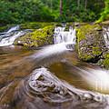 Nature's Water Slide Tilt Shift by Michael Ver Sprill