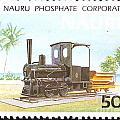Nauru Island Stamp by Vladimir Berrio Lemm