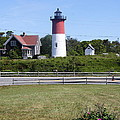 Nauset Light - Chatham by Christiane Schulze Art And Photography