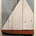 Nautical Wood Art 01 by John Turek