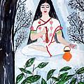 Nava Durga Brahmacharini by Pratyasha Nithin