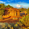 Navajo Hogan Canyon Dechelly Nps by Bob and Nadine Johnston