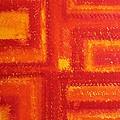 Navajo Rug Original Painting by Sol Luckman