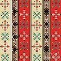 Navajo style pattern by Richard Laschon