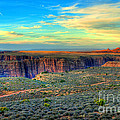 Navajo Sunset by K D Graves