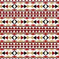 Navajo White Pattern by Christina Rollo