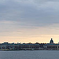 Naval Academy By Day Panorama by Benjamin Reed