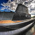 Naval Base At Erie Basin Marina by Michael Frank Jr
