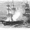 Naval Battle, 1779 by Granger