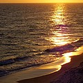 Navarre Sunset Surf by Terry Cobb