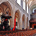 Nave Of The Church Of Our Lady by Elvis Vaughn