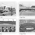 Navin Field Briggs Tiger Stadium Comerica Park by John Farr