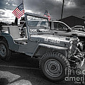 Navy Jeep by David B Kawchak Custom Classic Photography