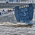 Navy Landing Craft 325 by Thomas Woolworth