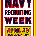 Navy Recruiting Week  by War Is Hell Store
