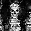 Nazi Helmets Skeletons Elephant Statuary Border Town Nogales Sonora Mexico 1968 by David Lee Guss