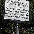 Nc-a37 Elizabeth City State University by Jason O Watson