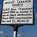 Nc-a43 Mount Lebanon Church by Jason O Watson