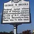 Nc-a54 George W. Brooks by Jason O Watson