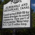 Nc-a76 Albemarle And Chesapeake Canal by Jason O Watson