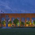 Ncaa Hall Of Champions Dusk by David Haskett II