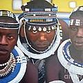 Ndebele Initiates by Edgar Pretorius
