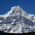 1m3644-ne Face Of Howse Peak by Ed  Cooper Photography