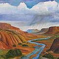 Near Abiqui by David Delaney
