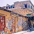 Near The Monastiraki In Greece by John Malone