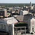 Nebraska Cornhuskers Stadium Lincoln by Bill Cobb
