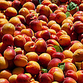 Nectarines For Sale At Weekly Market by Panoramic Images
