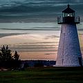 Ned's Point Light by Joan Carroll