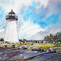 Ned's Point Light by P Anthony Visco