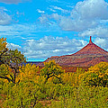 Needle-topped Butte From Highway 211 Going Into Needles District Of Canyonlands National Park-utah  by Ruth Hager