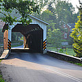 Neff's Mill Covered Bridge Lancaster County by Bill Cannon