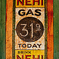 Nehi And Gas Sold Here by Priscilla Burgers