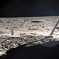 Neil Armstrong On The Moon - 1969 by Mountain Dreams