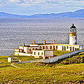 Neist Point Lighthouse Isle Of Skye by Marcia Colelli