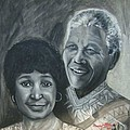 Nelson And Winnie by Howard Stroman