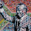 Nelson Mandela by Gary Hogben